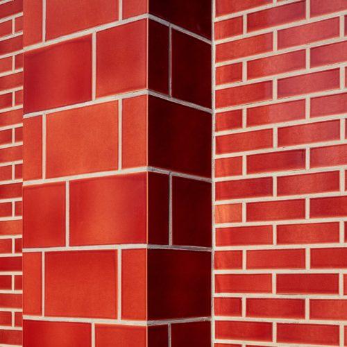 Briques et plaquettes émaillées St Joris