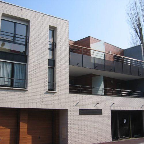 Maison individuelle - Marcq en Baroeul / Escudié Fermaut / Oslo blanc perle plaquette Röben