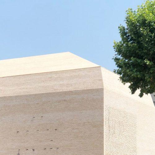 """Cinéma """"Le Grand Palais"""" - Cahors / Antonio Virga Architecte / Linéa 9001 brique et plaquette Vande Moortel"""