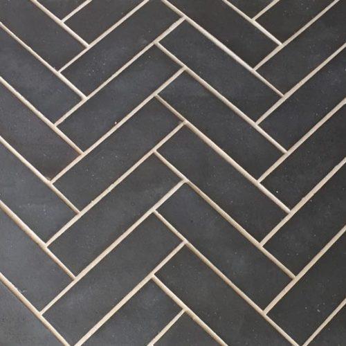 Staffordshire blue quarry tiles - dalle de terre cuite Ketley