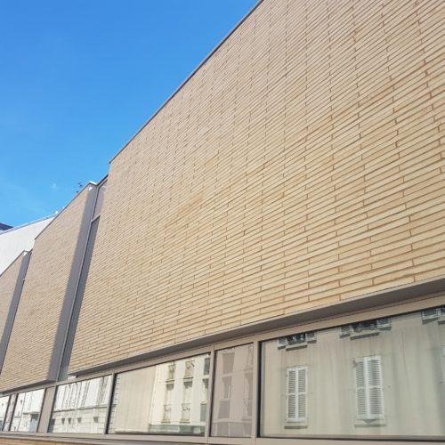 Ecole des lutins – Versailles / Deslandes architectes / Brique Petersen K71