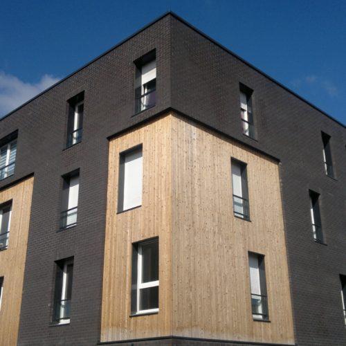 Logements quartier des fleurs - Halluin / Dumoulin architecte / Diabolo lisse Desta