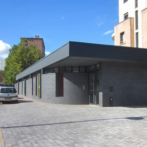 Crèche - Tourcoing / Apla architecture / Staffordshire Blue Ketley
