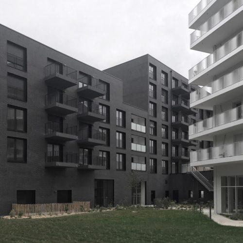 Logements ONYX - Nantes / De Alzua / Roben Faro noire